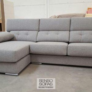 sofá modelo éxodo tres gris