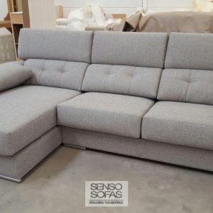 sofá modelo éxodo gris