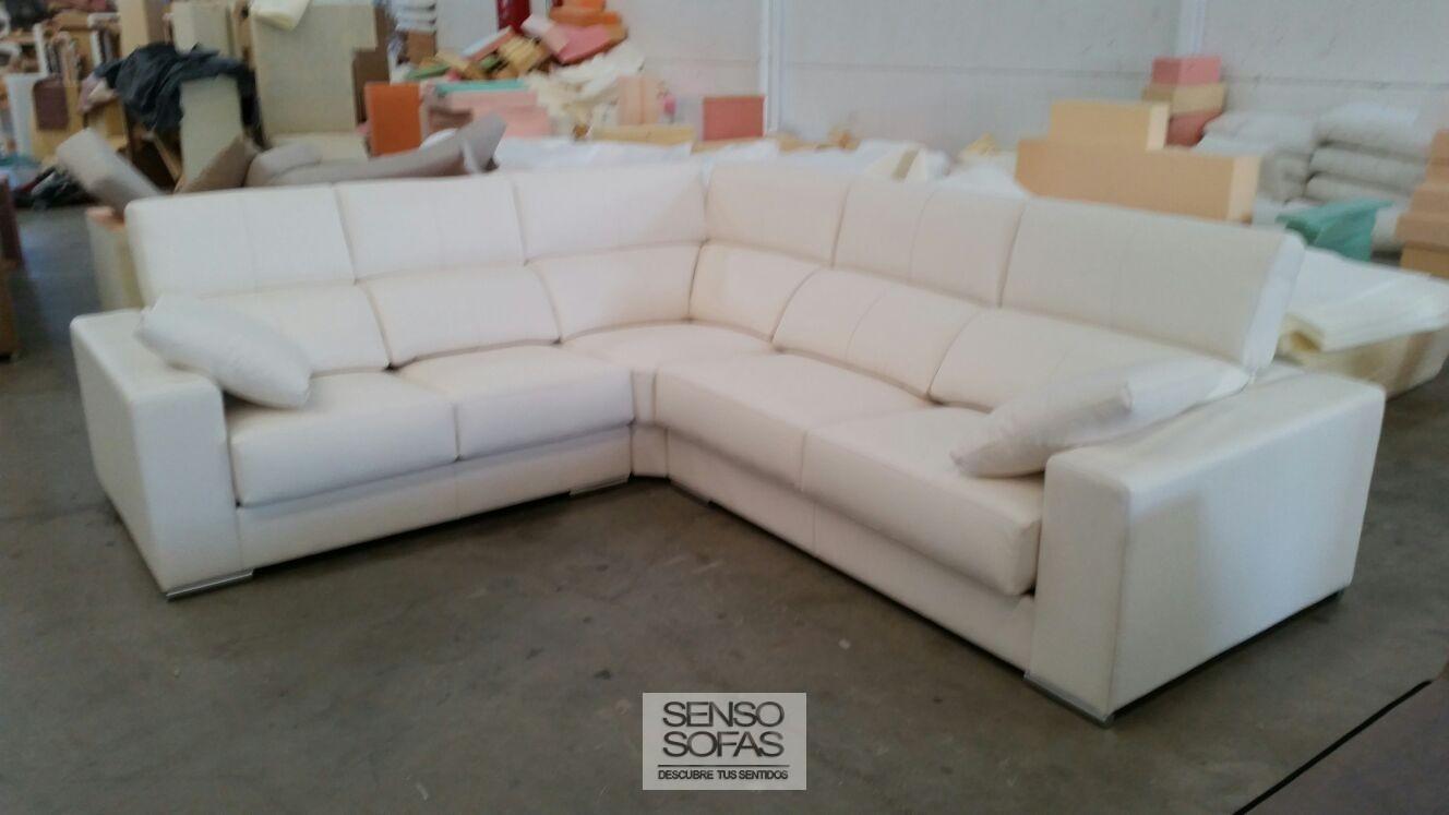 Sofa rinconera gaudi for Sofas alicante liquidacion